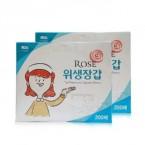 [로즈]일회용 위생장갑/폴리글러브(200매)